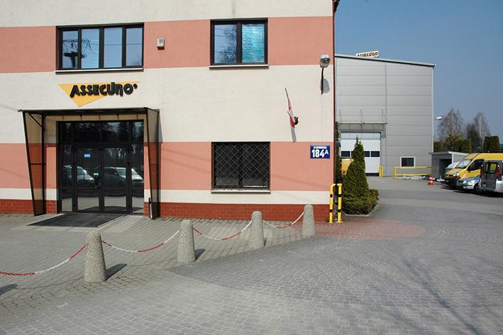 siedziba główna assecuro w łazach koło warszawy