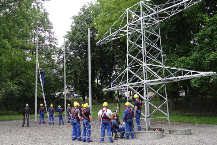szkolenia w dostępie budowlanym, poligon szkoleniowy assecuro w dąbrowie górniczej