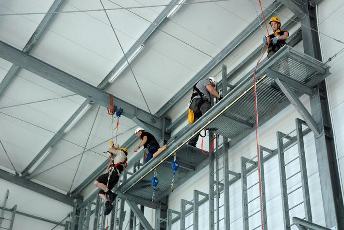 szkolenie drugiego stopnia, hala szkoleniowa w centrali assecuro
