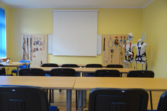 sala szkoleniowa w oddziale assecuro w dąbrowie górniczej