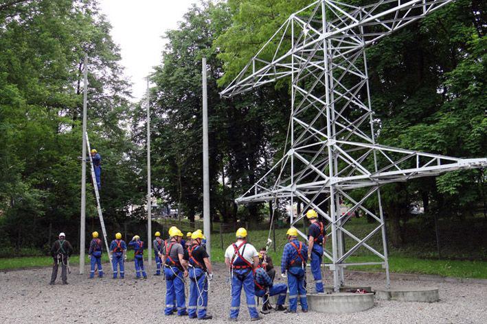 poligon szkoleniowy, szkolenia w oddziale w dąbrowie górniczej